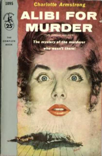 Pocket Books - Alibi for Murder - Charlotte Armstrong