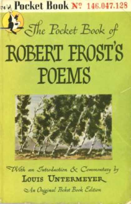 Pocket Books - The Pocket Book of Robert Frost's Poems