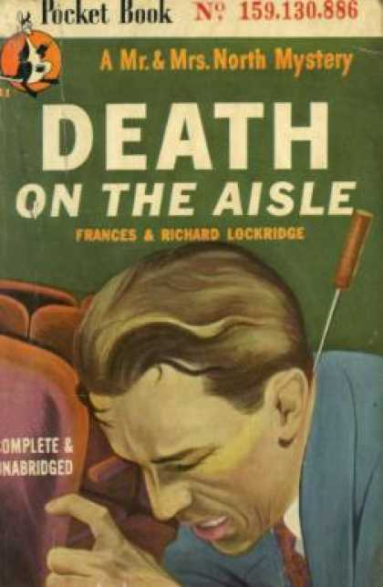Pocket Books - Death On the Aisle: A Mr. and Mrs. North Mystery - Frances and Richard Lockridge
