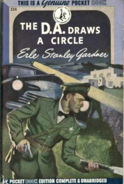 Pocket Books - The D.a. Draws a Circle - Erle Stanley Gardner