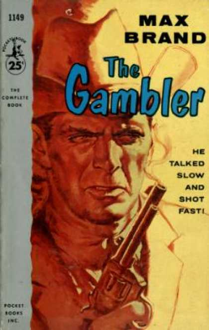Pocket Books - The Gambler - Max Brand
