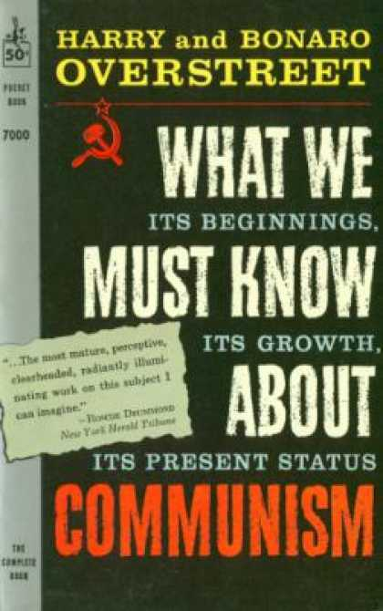 Pocket Books - What We Must Know About Communism - H. a Overstreet