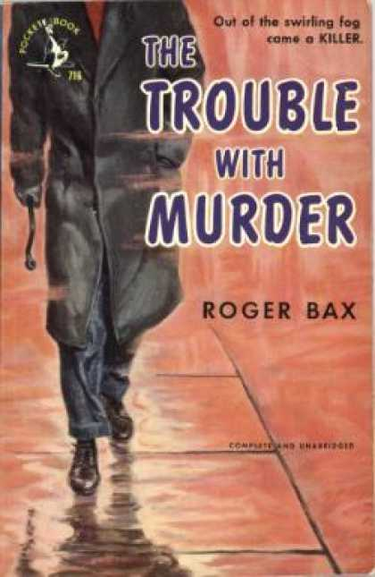 Pocket Books - Trouble With Murder, the - Roger Bax