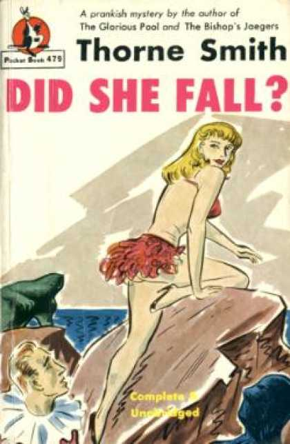 Pocket Books - Did She Fall? - Thorne Smith