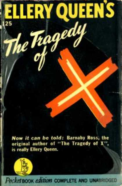 Pocket Books - The Tragedy of X - Ellery Queen