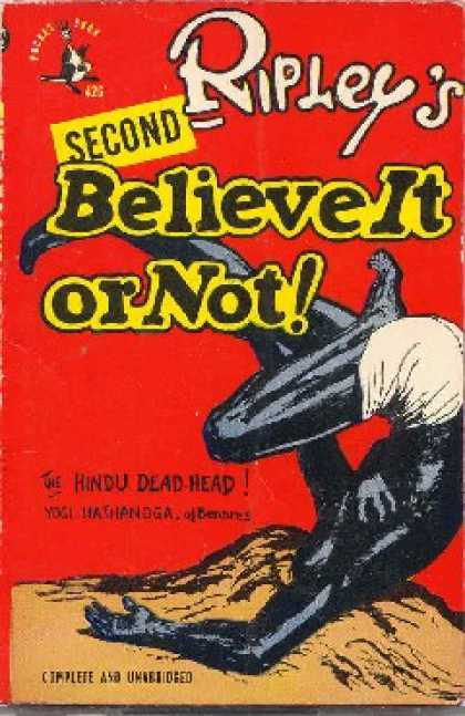 Pocket Books - Second Ripley's Believe It or Not - Robert Ripley