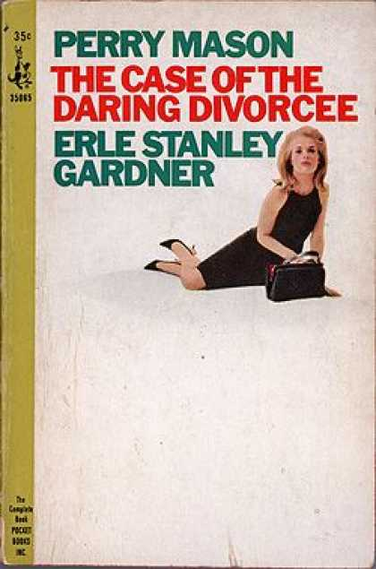 Pocket Books - The Case of the Daring Divorcee - Erle Stanley Gardner