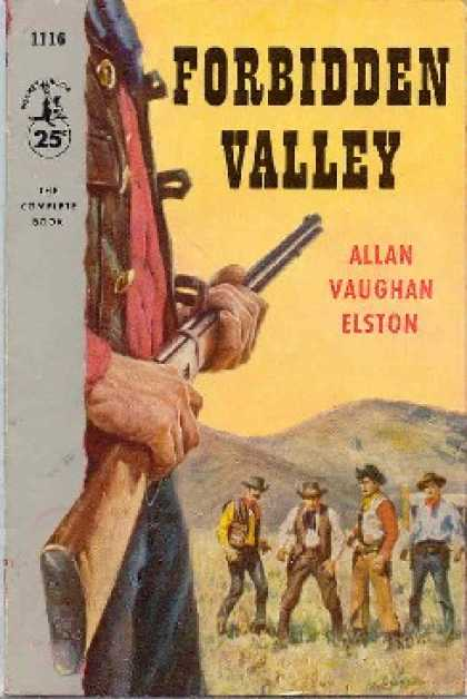 Pocket Books - Forbidden Valley - Allan Vaughan Elston