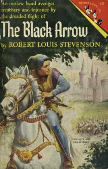 Pocket Books - The Black Arrow - Robert Louis Stevenson