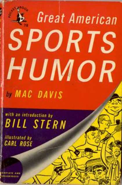 Pocket Books - Great American Sports Humor - Mac Davis