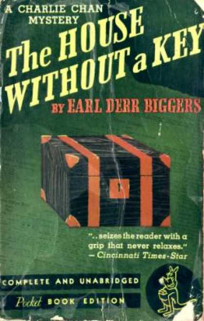 Pocket Books - The House Without a Key (classic Pocket Books, #50) - Earl Derr Biggers