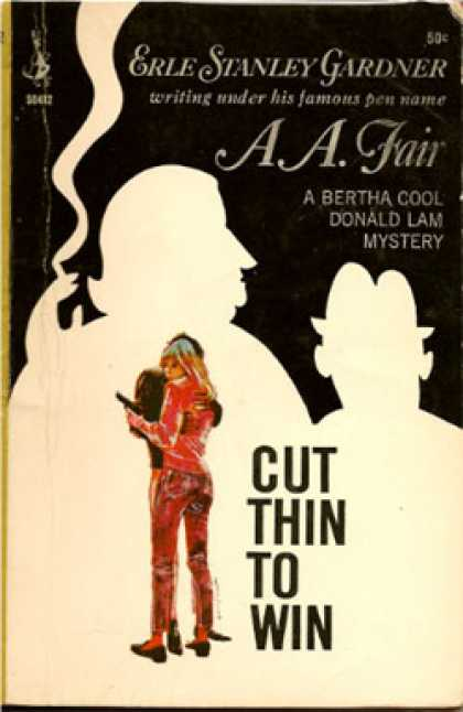 Pocket Books - Cut Thin To Win - Erle Stanley Gardner