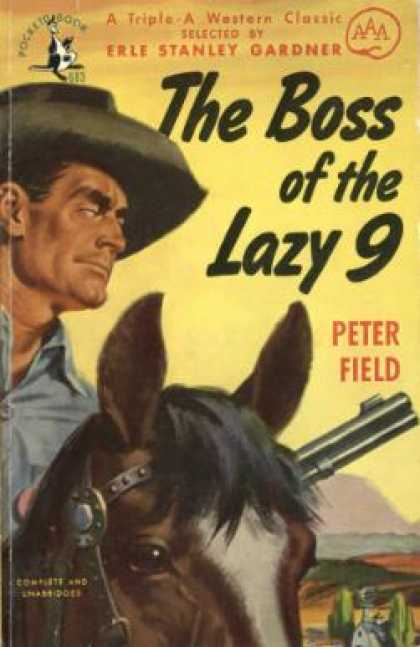 Pocket Books - The Boss of the Lazy 9 - Peter; Gardner, Erle Stanley Field