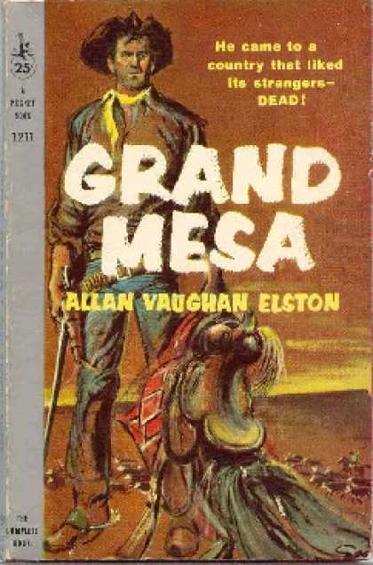Pocket Books - Grand Mesa - Allan Vaughan Elston