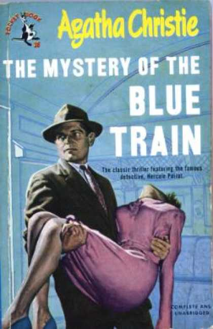 Pocket Books - The Mystery of the Blue Train