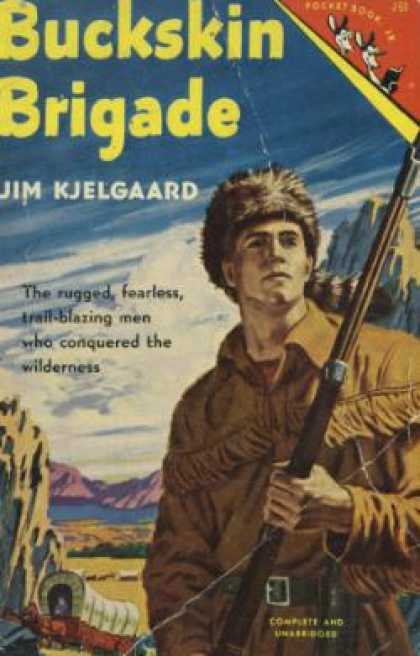 Pocket Books - Buckskin Brigade - Jim Kjelgaard