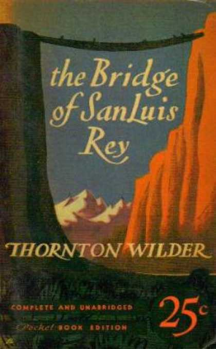 Pocket Books - The Bridge of San Luis Rey - Thornton Wilder