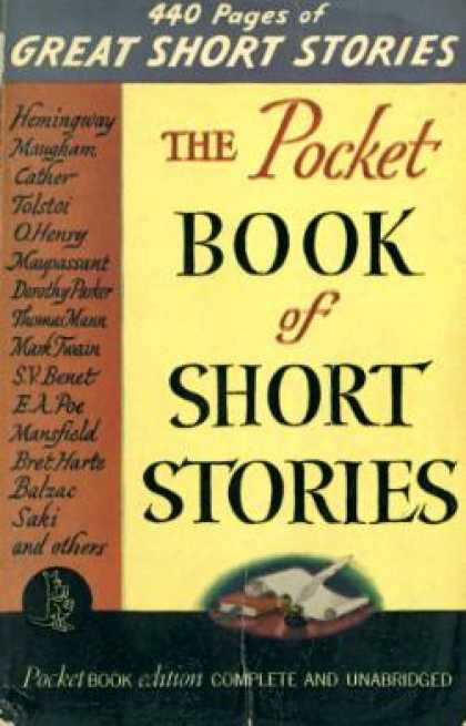 Pocket Books - The Pocket Book of Short Stories - M. E. Speare