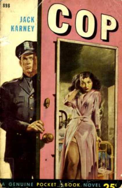 Pocket Books - Cop - Jack Karney