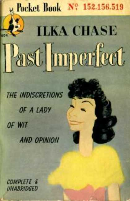 Pocket Books - Past Imperfect - Ilka Chase