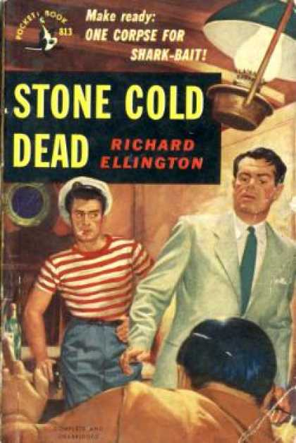 Pocket Books - Stone Cold Dead - Richard Ellington