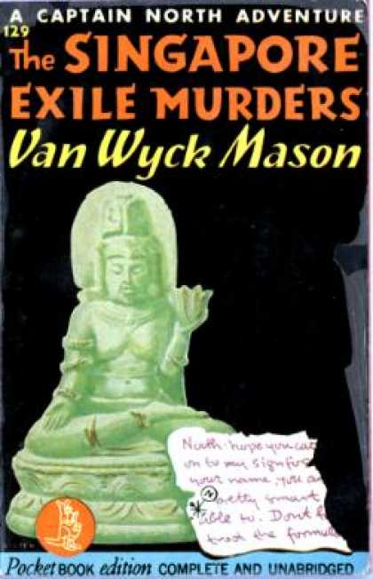 Pocket Books - The Singapore Exile Murders: A Captain North Adventure - F. Van Wyck Mason