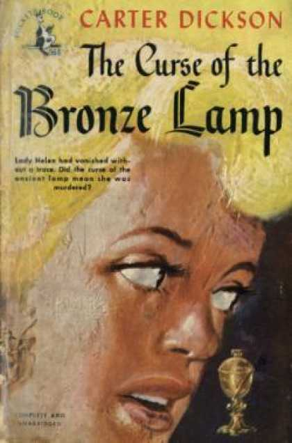 Pocket Books - The Curse of the Bronze Lamp - Carter Dickson