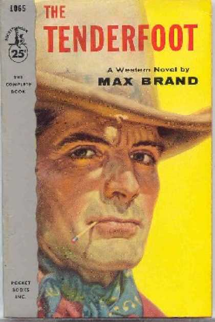 Pocket Books - The Tenderfoot - Max Brand