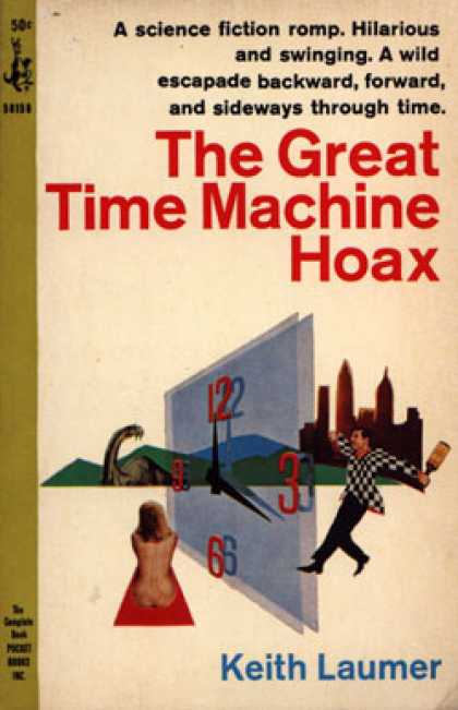 Pocket Books - The Great Time Machine Hoax - Keith Laumer