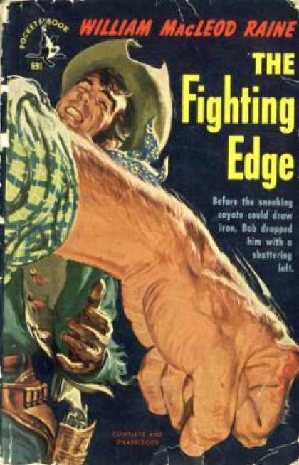 Pocket Books - The Fighting Edge - William Macleod Raine