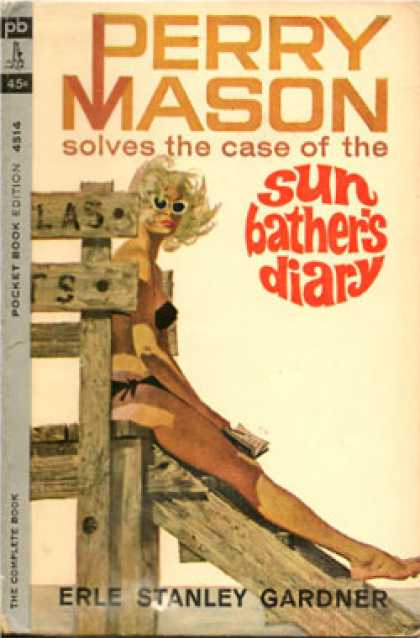 Pocket Books - Perry Mason the Case of Sun Bather's Diary - Erle Stanley Gardner