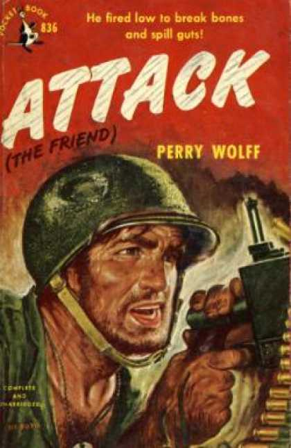 Pocket Books - Attack - Perry Wolff