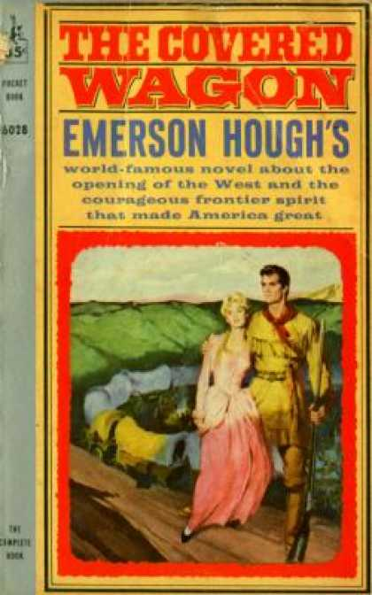 Pocket Books - The Covered Wagon - Emerson Hough