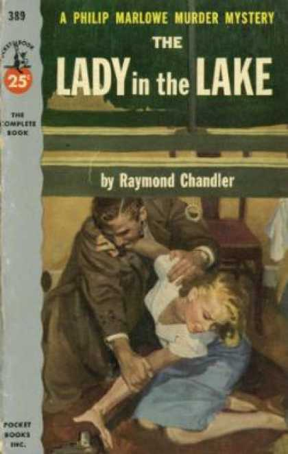 Pocket Books - The Lady In the Lake - Raymond Chandler