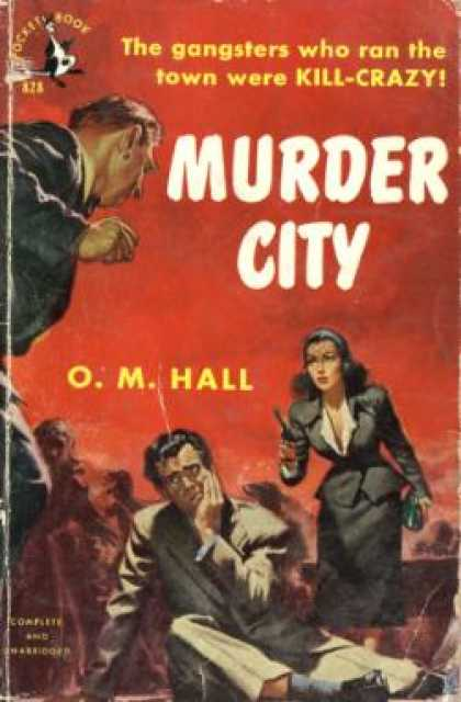 Pocket Books - Murder City - O. M. Hall
