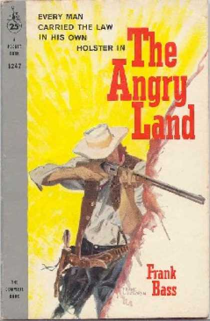 Pocket Books - The Angry Land - Frank Bass