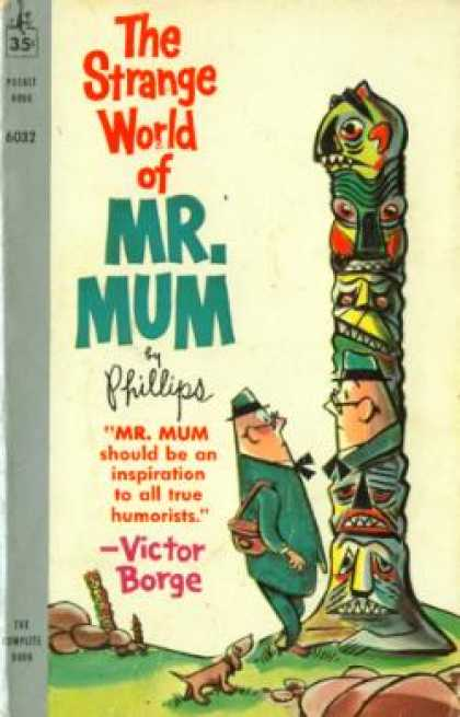 Pocket Books - The Strange World of Mr. Mum - Irving Walter Phillips