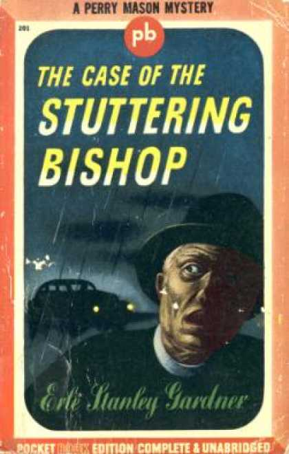 Pocket Books - Case of the Stuttering Bishop, the - Erle Stanley Gardner