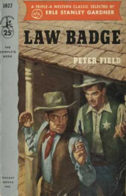 Pocket Books - Law Badge - Peter Field