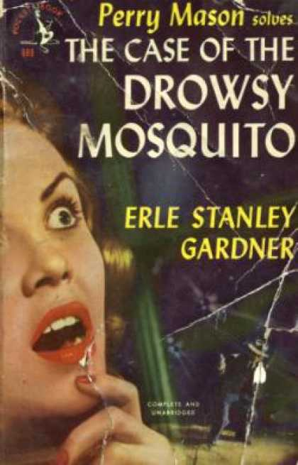 Pocket Books - The Case of the Drowsy Mosquito - Erle Stanley Gardner