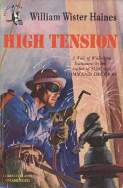 Pocket Books - High Tension - William Wister Haines