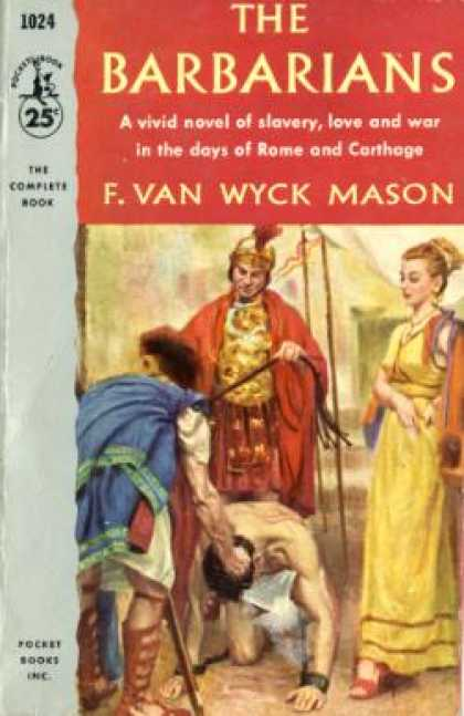 Pocket Books - The Barbarians - F. Van Wyck Mason