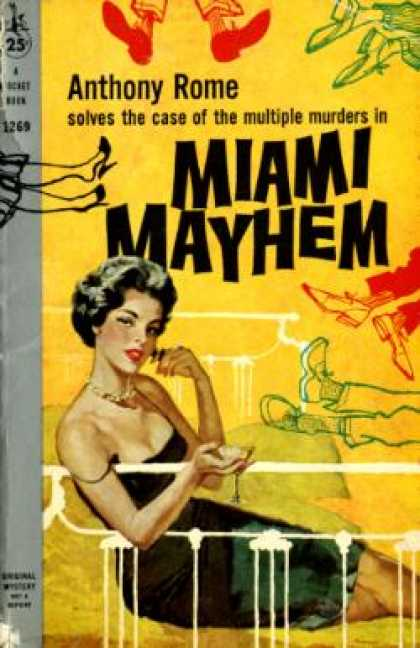 Pocket Books - Miami Mayhem