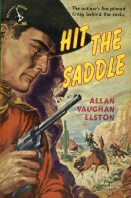 Pocket Books - Hit the Saddle - Allan Vaughan Elston