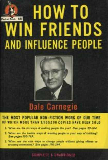 Pocket Books - How To Win Friends and Influence People - Dale Carnegie