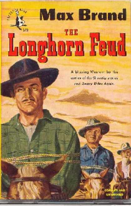 Pocket Books - The Longhorn Feud - Max Brand