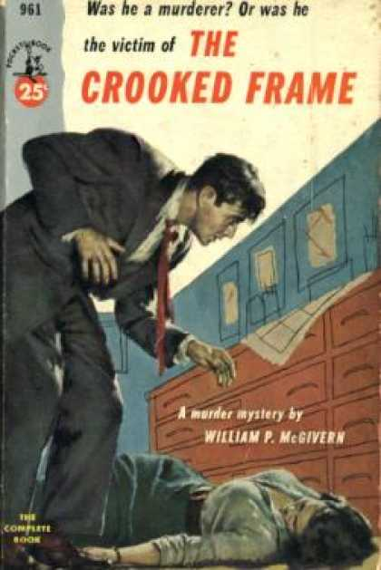 Pocket Books - The Crooked Frame - William P. Mcgivern