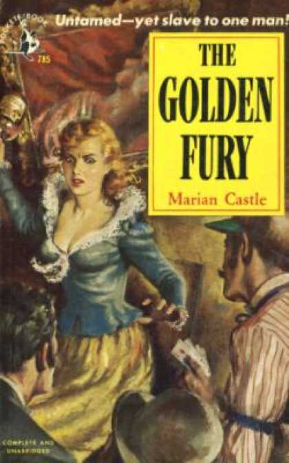 Pocket Books - The Golden Fury - Marian Castle