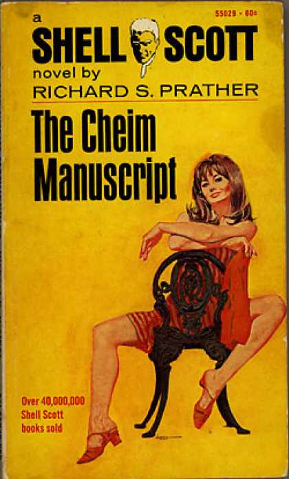 Pocket Books - The Cheim Manuscript - Prather. Richard S.