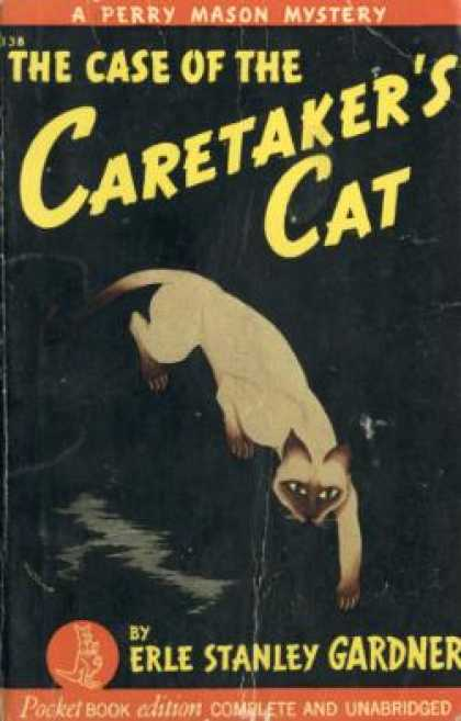 Pocket Books - The Case of the Caretakers Cat - Erle Stanley Gardner